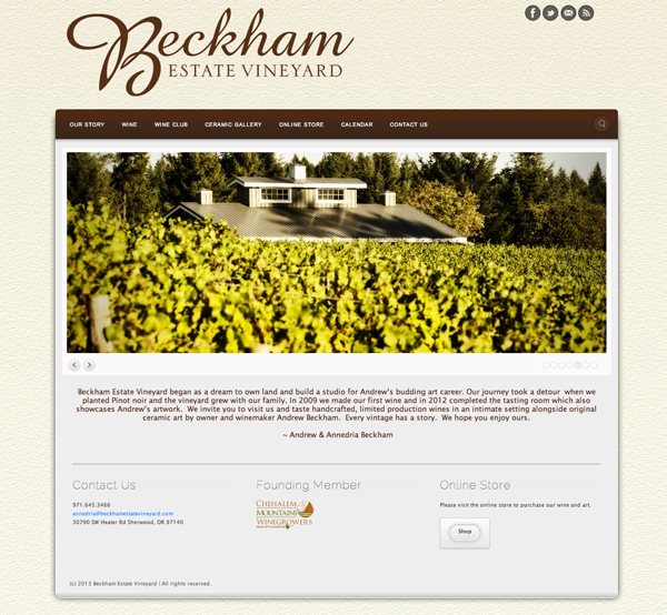 Beckham Estate Vineyard